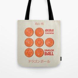 Dragon Ball, A. Toriyama manga, alternative movie poster, cult anime, Japanese wall art. Tote Bag