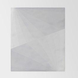 Rays through fog Throw Blanket