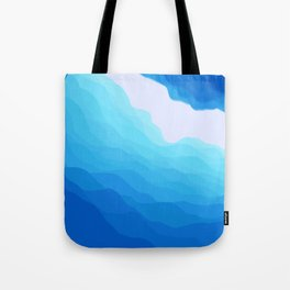 Icy Abyss Tote Bag