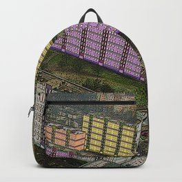 Colorful Block Buildings - Bekasmegyer - Budapest Backpack