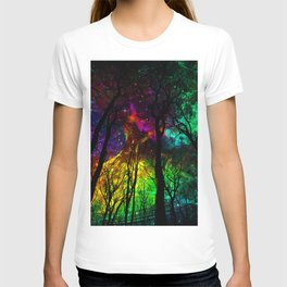 Fairy forest i T-shirt