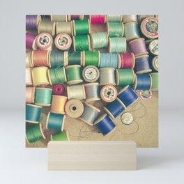 Cotton Reels Mini Art Print