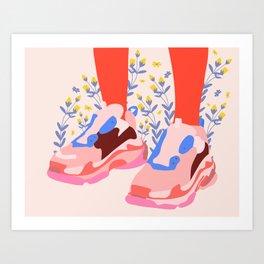 Be proud Art Print