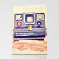 polaroid Stationery Cards featuring Polaroid by Irene Miravete