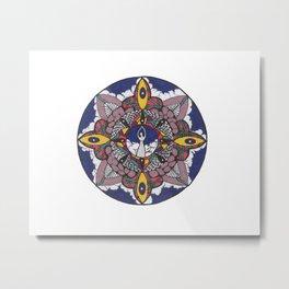Vibrant Goddess Metal Print