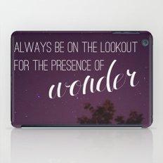 presence of wonder. iPad Case