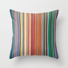 STRIPES 31 Throw Pillow