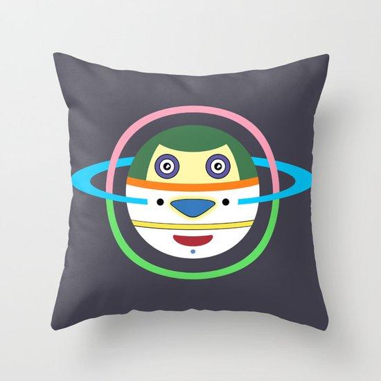 Spaceman 1 Throw Pillow
