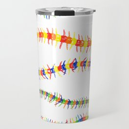 Colorwheel Centipedes Travel Mug