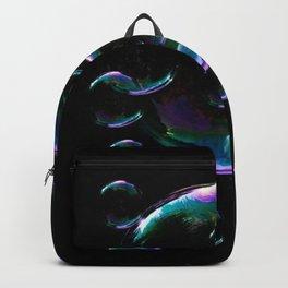 IRIDESCENT SOAP BUBBLES  BLACK COLOR Backpack