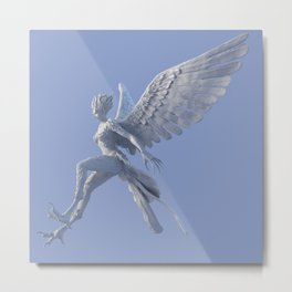 Syrenox - the Siren Metal Print