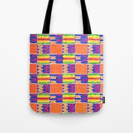 African Influence Textile Tote Bag