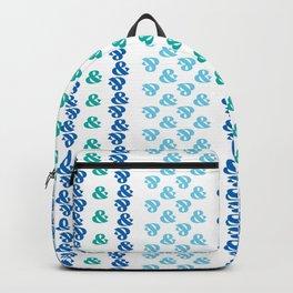 Typographic Pattern: Ampersand III Backpack