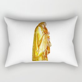 Life of Christ 'Judas Betrayal' figure interpretation Rectangular Pillow