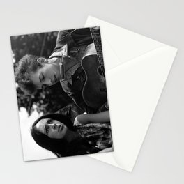 Bob Dylan and Joan Baez at the March on Washington, 1963 Stationery Cards