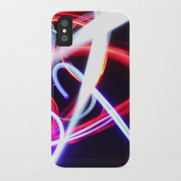 Lightpainting abstract iPhone Case