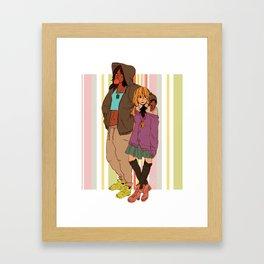 yumikuri Framed Art Print