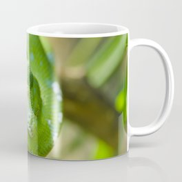 Green snake Coffee Mug
