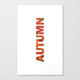 Peecking Season - Autumn Canvas Print
