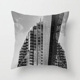 Uptown III Throw Pillow
