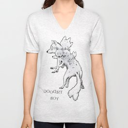 The Goodest Boy Unisex V-Neck
