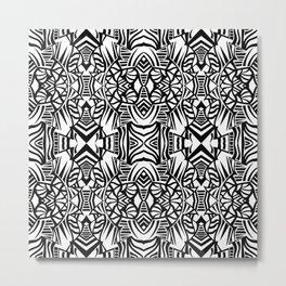 Tiki Totem Metal Print