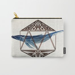 whale in the icosahedron Carry-All Pouch