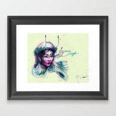 pen-fairy Framed Art Print