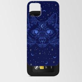Midnight Cat iPhone Card Case