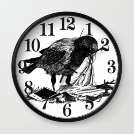 Crow's nest Wall Clock