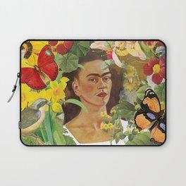 Frida Kahlo Collage Laptop Sleeve