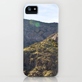 Mount Lemmon iPhone Case