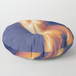 The Nude Torso Floor Pillow