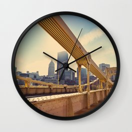 Pittsburgh, PA, USA Wall Clock