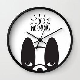 Good morning Coco Wall Clock