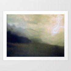 light storm Art Print