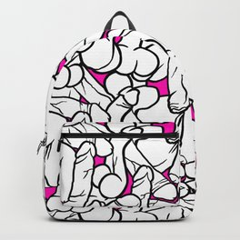 Schlong Song in Pink, All the Penis! Backpack