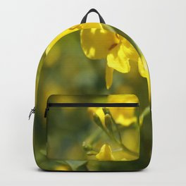 Fragrant Yellow Flowers Of Carolina Jasmine Backpack