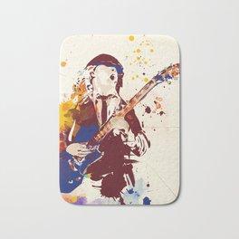Angus Young Pop art style Bath Mat