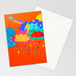 Bright Storm Stationery Cards
