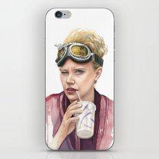 Jillian Holtzmann Portrait   Ghostbusters Art Painting iPhone & iPod Skin