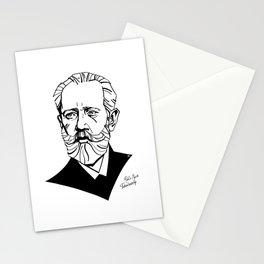 Pyotr Ilyich Tchaikovsky Stationery Cards