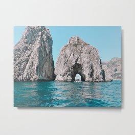 Faragolini off Capri, Italy Metal Print