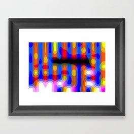 helter stupid Framed Art Print