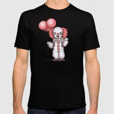 They All Float Down Here Mens Fitted Tee Black X-LARGE