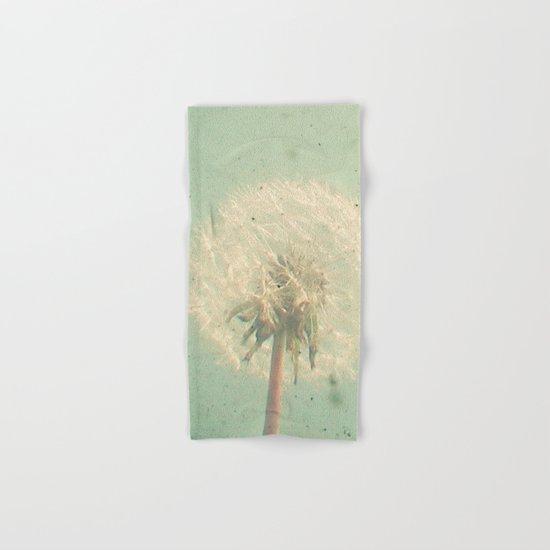 Dandelion Clock Hand & Bath Towel
