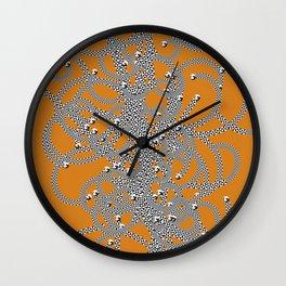 Effervescent Mercury Wall Clock
