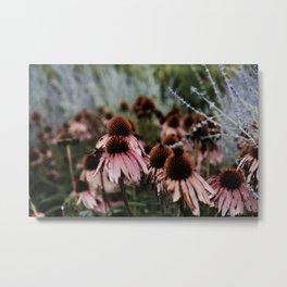 Flowers at Dawn Metal Print