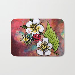 Ladybugs Bath Mat