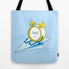 Times Flies (color option) Tote Bag